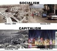 Havana and Hong Kong: A Tale of Socialism vs. Capitalism