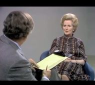 Wm. F. Buckley interviews Margaret Thatcher on Capitalism